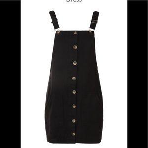 Boohoo button dress